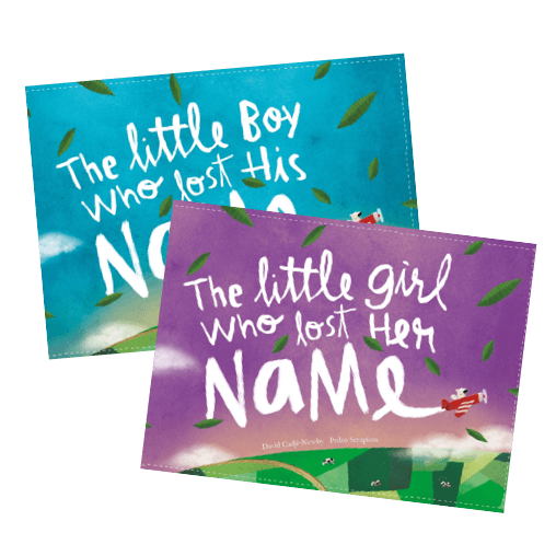 An image of the The Little Boy Or Girl Who Lost Their Name product